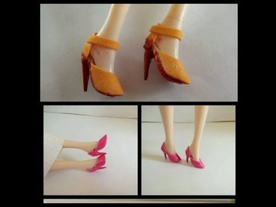 How to make high heels for dolls