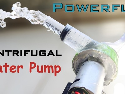 How to make  High Power Water Pump at Home