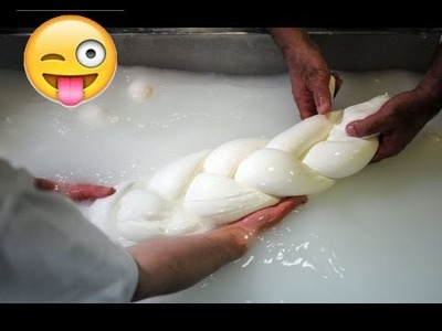 How to Make Mozzarella Cheese - How It's Made