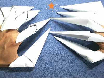 How to make paper Origami Claws