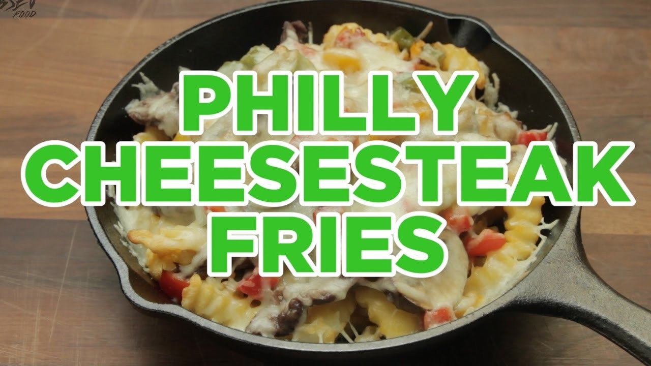 How to Make Philly Cheesesteak Fries - Full Step-by-Step Video Recipe
