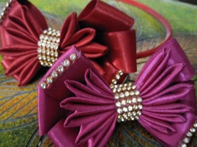 How to make ribbon bows