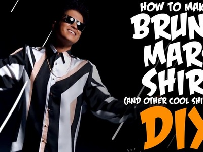 How To Make The Bruno Mars Shirt! KOA DIY