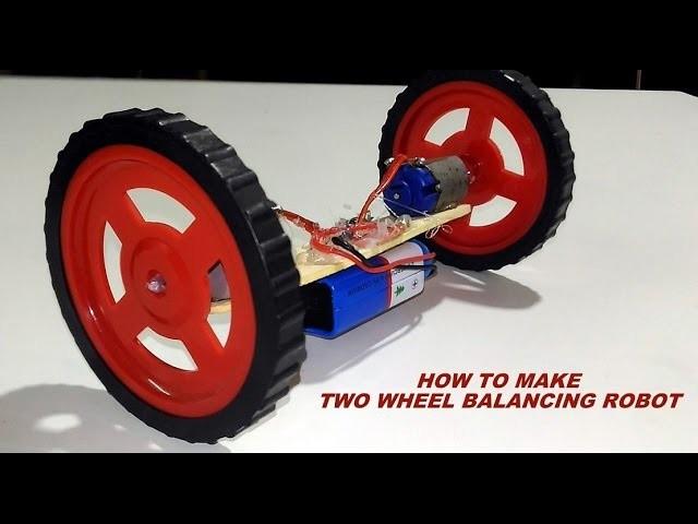 How to make two wheel balancing Car.Robot
