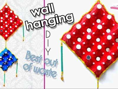 How to make wall hanging from waste egg tray | wall art | Best out of waste | Artkala 143