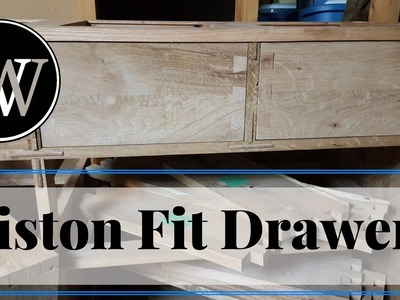 How to Piston Fit Drawers For a Dresser A Hand Tool Woodworking Project