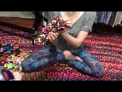 How to roll your lularoe leggings
