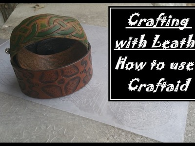 How to use a Craftaid in Leatherworking