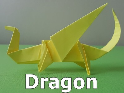 Origami Easy Dragon (How to make)