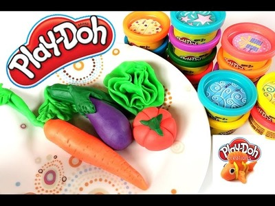 Play Doh | Play & Learn How to Make Vegetables