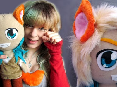 Plushie basics! How to make ears and tails for your plush| Tutorial by Cloctor Creations