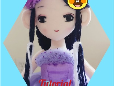 Tutorial - How to make the rag dolls Part two (Doll's Hair)