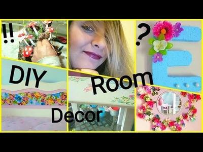 3 DIY room decor ideas.3 DIY Ιδέες για διακόσμηση δωματίου