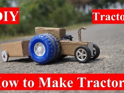 Amazing DIY Tractor - How to make A Tractor at Home