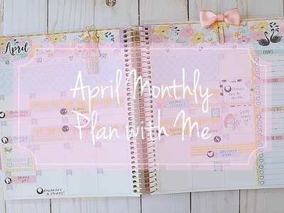 April Monthly Plan with Me Feat. Hello Petite Paper