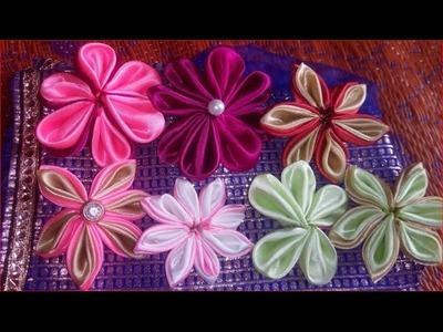 Beautiful FLOWER MAKING at home DIY