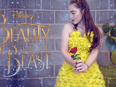 Beauty and the Beast || DIY Origami Costume