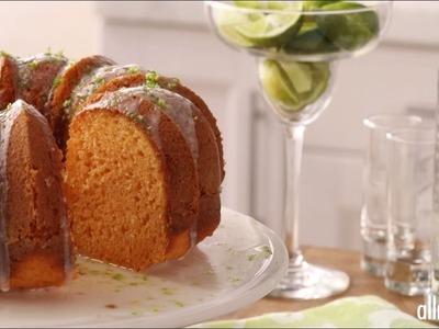 Boozy Dessert Recipes - How to Make Margarita Cake