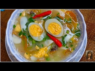 Cambodian Sweet And Sour Fish Soup