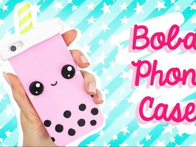 ☆ DIY Bubble Tea PHONE CASE! ☆ Easy & Cute! ☆