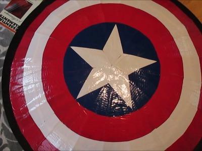 DIY Captain America's Shield-CARDBOARD!