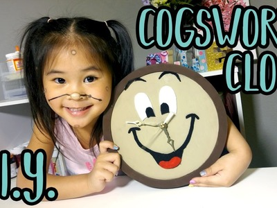 DIY Cogsworth Clock | Beauty and the Beast Crafts | Disney DIYs