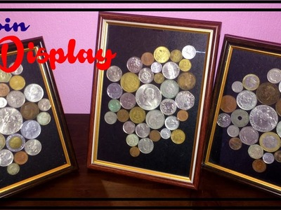 Diy Coin Collection Frame Display On Budget