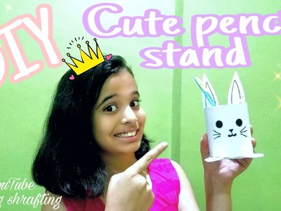 DIY cute pen stand.Easter crafts|Crafting shrafting