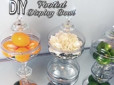 DIY | Dollar Tree | Home Decor | Footed Display Bowl