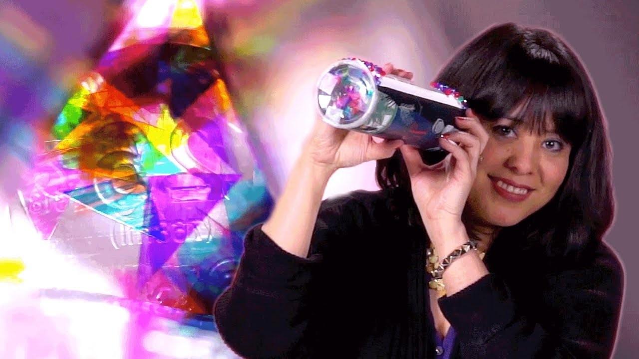 DIY: Homemade Kaleidoscope with Erin Entrada Kelly   HELLO, UNIVERSE