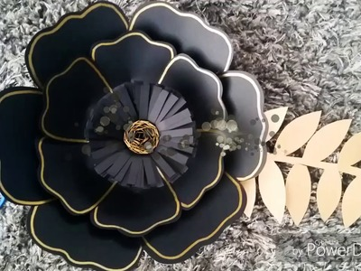 DIY How to make small paper flowers-Como hacer flor de papel