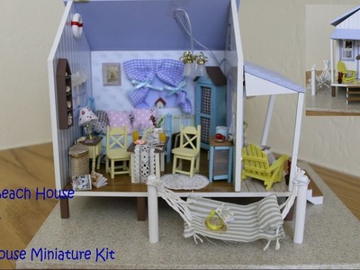 DIY Miniature Dollhouse Kit Beach House (Part 1)