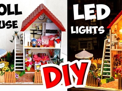 DIY Musical Miniature Doll House with LED Lights ❤ Darling Dolls