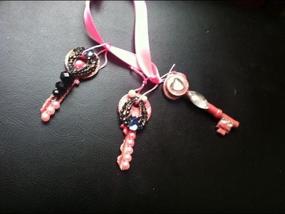 DIY Old key embellishment.Bring back memories. Shabby chic    1.1M