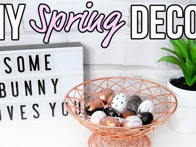 DIY Spring Room Decor 2017! Cute & Cheap!