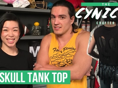 DIY Tank Tops COLLAB withwendy and The Cynical Crafter | CBC Life