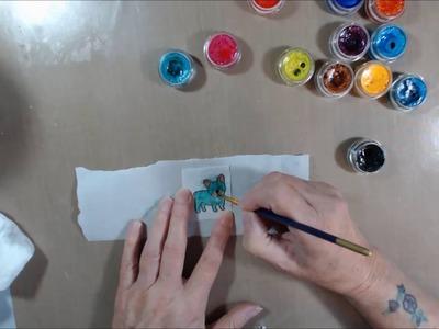 DIY TISSUE PAPER EMBELLISHMENTS