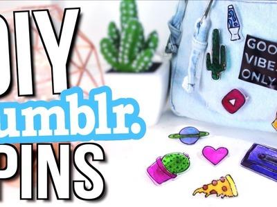 DIY TUMBLR PINS! Easy + Affordable Tumblr Decor
