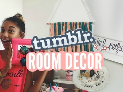 DIY TUMBLR ROOM DECOR
