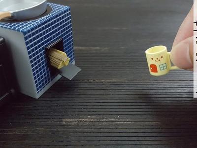 DIY Wood Floor Miniature | how to install Wood Floor