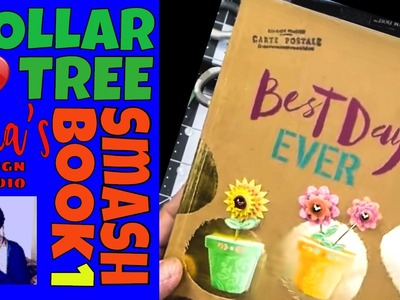 Dollar Tree DIY SmashBook - Disney Inspired Do-it-Yourself Embellies & Time Capsules