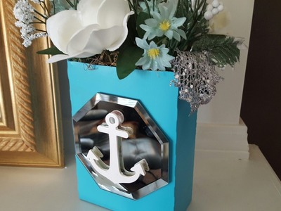 DOLLAR TREE MIRROR BOX UPCYCLE | DIY CRAFTS
