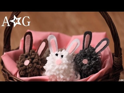 Easter DIY: Pom Pom Bunny!   OMaG   American Girl