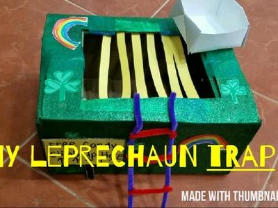 EASY DIY LEPRECHAUN TRAP FOR ST. PATRICK'S DAY. PRESCHOOLER ACTIVITY