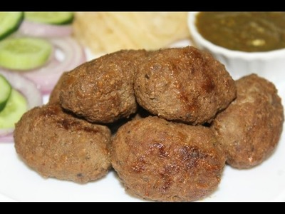 GOLA KABAB. HOW TO MAKE GOLA KABAB IN A PAN