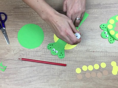 Hiding turtle, fun crafting activities to do at home, easy diy for kids.