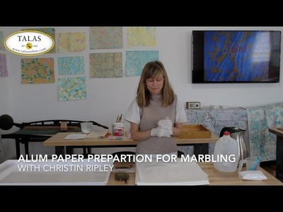 How To Alum Paper for Marbling