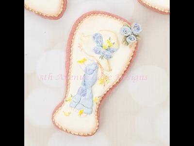 How to Create  Vintage Sarah Kay Easter Cookies ????????????????