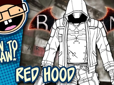 How to Draw RED HOOD (Batman: Arkham Knight) | Narrated Easy Step-by-Step Tutorial