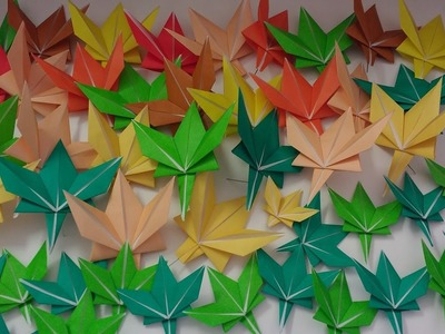 How to Fold an Origami Maple Leaf (Tutorial)